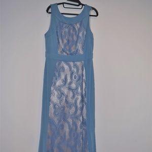 SANGRIA BLUE DRESS